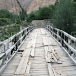 A local bridge, Basha Valley, Gilgit-Baltistan, July 23, 2014