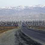 A road through Qila Saif Ullah, Balochistan, January 29, 2011