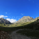 A road to Burzul top, Astore, Gilgit-Baltistan, August 3, 2017