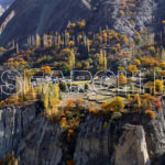 A village, Hunza, Gilgit-Baltistan, November 5, 2016