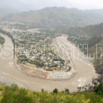 An overview of Muzaffarabad, AJK, May 12, 2008