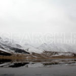 Frozen Shandur Lake, Shandur Pass, Chitral, KP, October 31, 2011