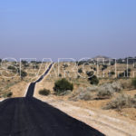 Twisting road, Omerkot, Thar, Sindh, December 28, 2015